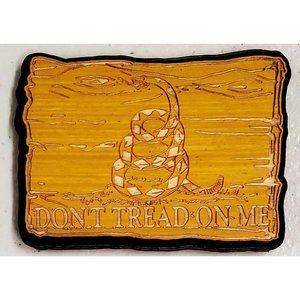 Don't Tread on Me - Made in the USA - Wooden Magne